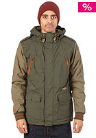 K1X Urban Hooded Jacket Reloaded mk2 duffle/ivy green