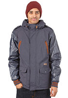 K1X Urban Hooded Jacket Reloaded mk2 navy/brown patina