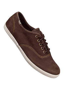 KEDS Champion Lo Rise Leather brown