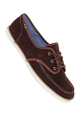 KEDS KEDS Womens Ch Skipper Suede coffee bean