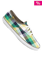 KEDS Womens Champion CVO plaid green/olive