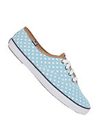 KEDS Womens Champion CVO Polka Dot aqua/white