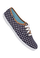 KEDS Womens Champion CVO Polka Dot navy/white