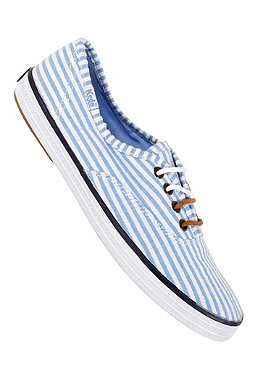 KEDS Womens Champion CVO Seersucker white/blue