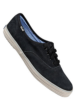 KEDS Womens Champion CVO Suede black