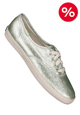 KEDS Womens Champion CVO washed metallic green