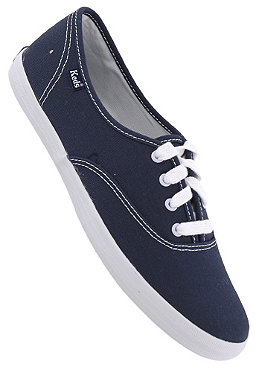 KEDS Womens Champion Lacy Up navy