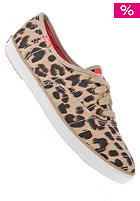 KEDS Womens Champion Leopard tan