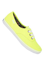 KEDS Womens Rookie Neon yellow