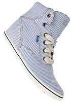 KEDS Womens Rookie Wedge Chambray blue