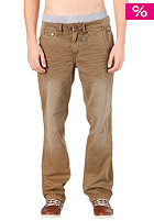 KHUJO Matt Chino Pant dark toffee