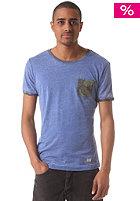 KHUJO Omer S/S T-Shirt cobalt blue