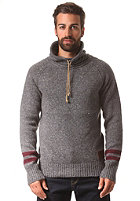 KHUJO Piet Knit Sweat dark grey