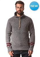 KHUJO Piet Knit Sweat dark grey