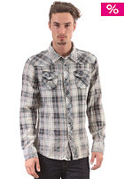 KHUJO Spire Shirt grey/white check
