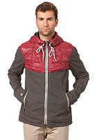 KHUJO Tanker Jacket taupe/wine