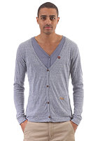 KHUJO UST Knit Jacket dusty blue
