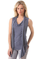 KHUJO Womens Anron Top cobalt blue