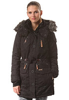 KHUJO Womens Camilla With Inner Jacket Coat black