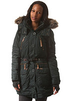 KHUJO Womens Camilla With Inner Jacket Coat forest green