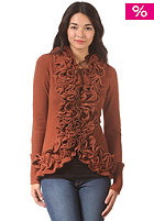 KHUJO Womens Celect Sweatjacket rusty naps