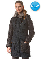 KHUJO Womens Chantal Mix Coat navy