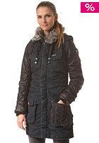KHUJO Womens Chantal Mix Coat navy