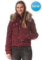 KHUJO Womens Datsia Jacket wine red