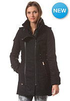 KHUJO Womens Dredog With inner Jacket Coat navy