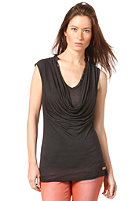 KHUJO Womens Fifty Top black