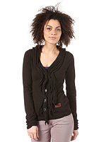 KHUJO Womens Hook Cardigan black