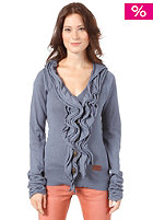 KHUJO Womens Hook Cardigan blue