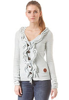KHUJO Womens Hook Knit Sweat baby blue