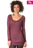 KHUJO Womens Kasai Longsleeve wine red