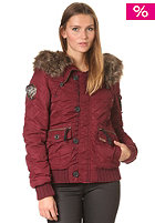 KHUJO Womens Mia Jacket red