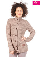 KHUJO Womens Mink Woolsweat stone melange
