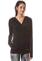 KHUJO Womens Nadja Hooded Sweat black