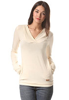 KHUJO Womens Nadja Hooded Sweat offwhite
