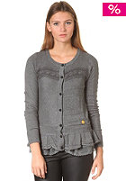 KHUJO Womens Nidelva Knit Jacket charcoal