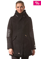 KHUJO Womens Poppie With Inner Jacket black