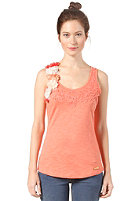KHUJO Womens Sile Top orange