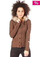 KHUJO Womens Sparrow Woolsweat light mud melange