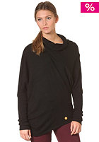 KHUJO Womens Yodes Knit Sweat black
