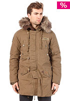 KHUJO Yanked Jacket brown