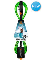 KOMUNITY 12' Big Wave Leash -  8mm lime