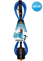 KOMUNITY 7' Standard Leash - 7mm blue