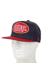 KR3W Blunt Snapback Cap navy