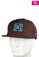 KR3W Brackets Snap Starter Cap brown