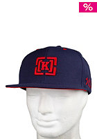 KR3W Brackets Snap Starter Cap navy