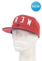 KR3W Encore Snapback Cap navy / red